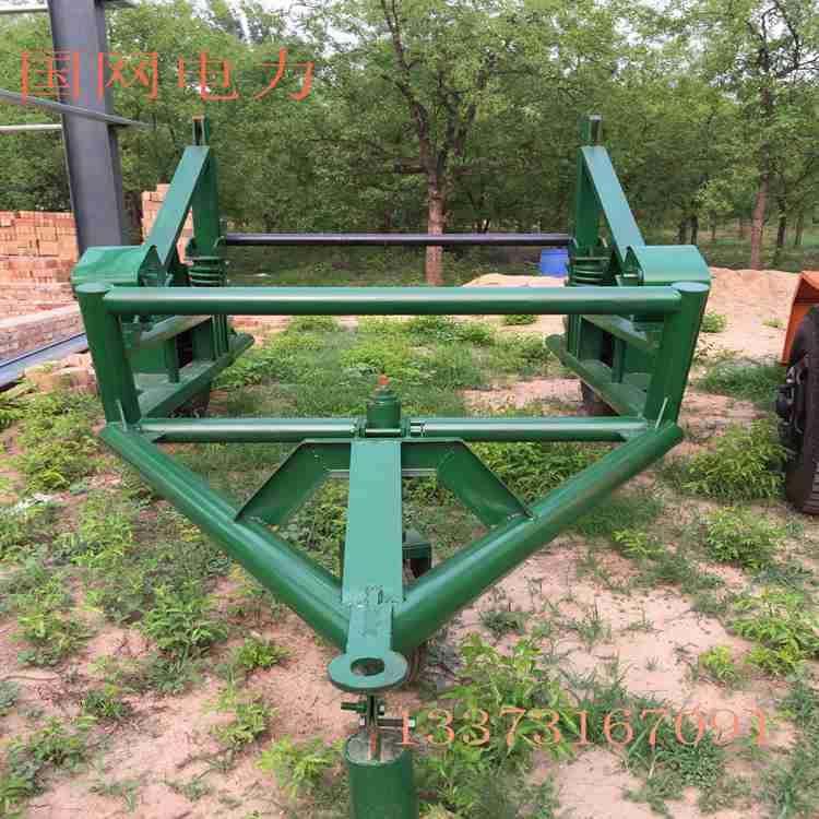国网电缆放线盘拖车 10T电缆拖车 电力施工选用机械电缆拖车