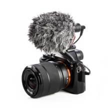 BOYA博雅BY-MM1摄像机DV单反相机录音话筒手机直播采访麦克风图片