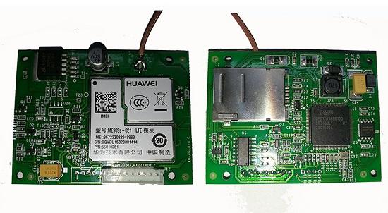 4G DTU嵌入式模块  TTL/RS485/RS232接口转3G DTU数据透明传输单元