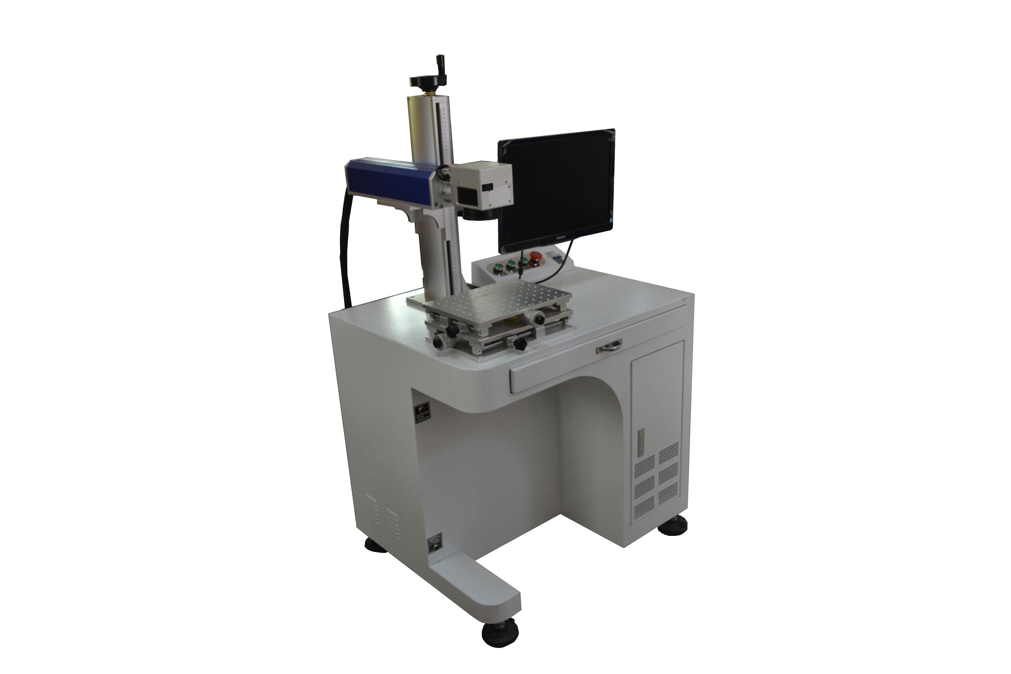 供应全新20瓦激光打标机,激光刻字机,金属铭牌激光打印机 激光打标机,激光刻字