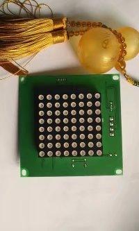 厂家批发门禁控制系统三辊闸通用8*8灯板  红绿灯显示屏 通道闸灯板