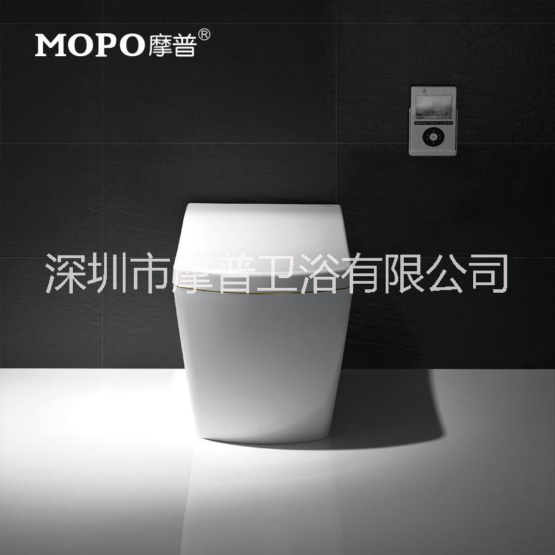 MOPO/摩普2002全自动翻盖即热智能马桶 移动烘干一体式智能坐便器 MP-2002