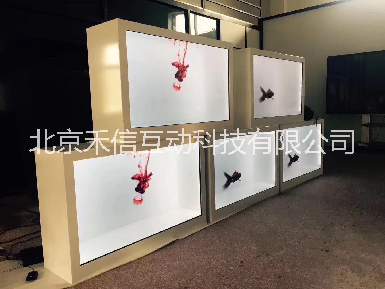 透明液晶屏展示柜