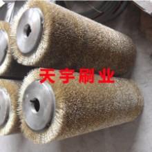 天宇刷业定制各种非标件钢丝刷辊、钢丝辊