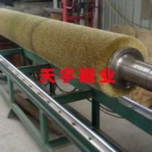 厂家大量供应金属丝刷辊 钢丝刷 不锈钢丝刷辊