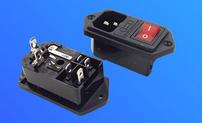 东莞厂家直销三合一AC插座 品字插座三合一 AC插座三合一 三合一电源插座 三合一AC插座