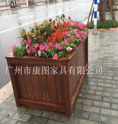 木质花池图片/木质花池样板图 (1)