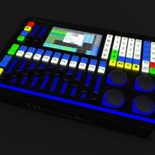小老虎2048控台中文触摸DMX512灯光控制台金刚1024s顾得控台MA灯光控制台调光台黑马控台 TH-touch批发