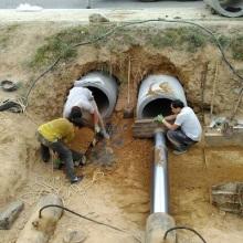 供应陕西安塞县非开挖顶管工程价格电话  承接燃气、水利、电力、通信、铁路、公路各种管道非开挖穿越顶管施工图片