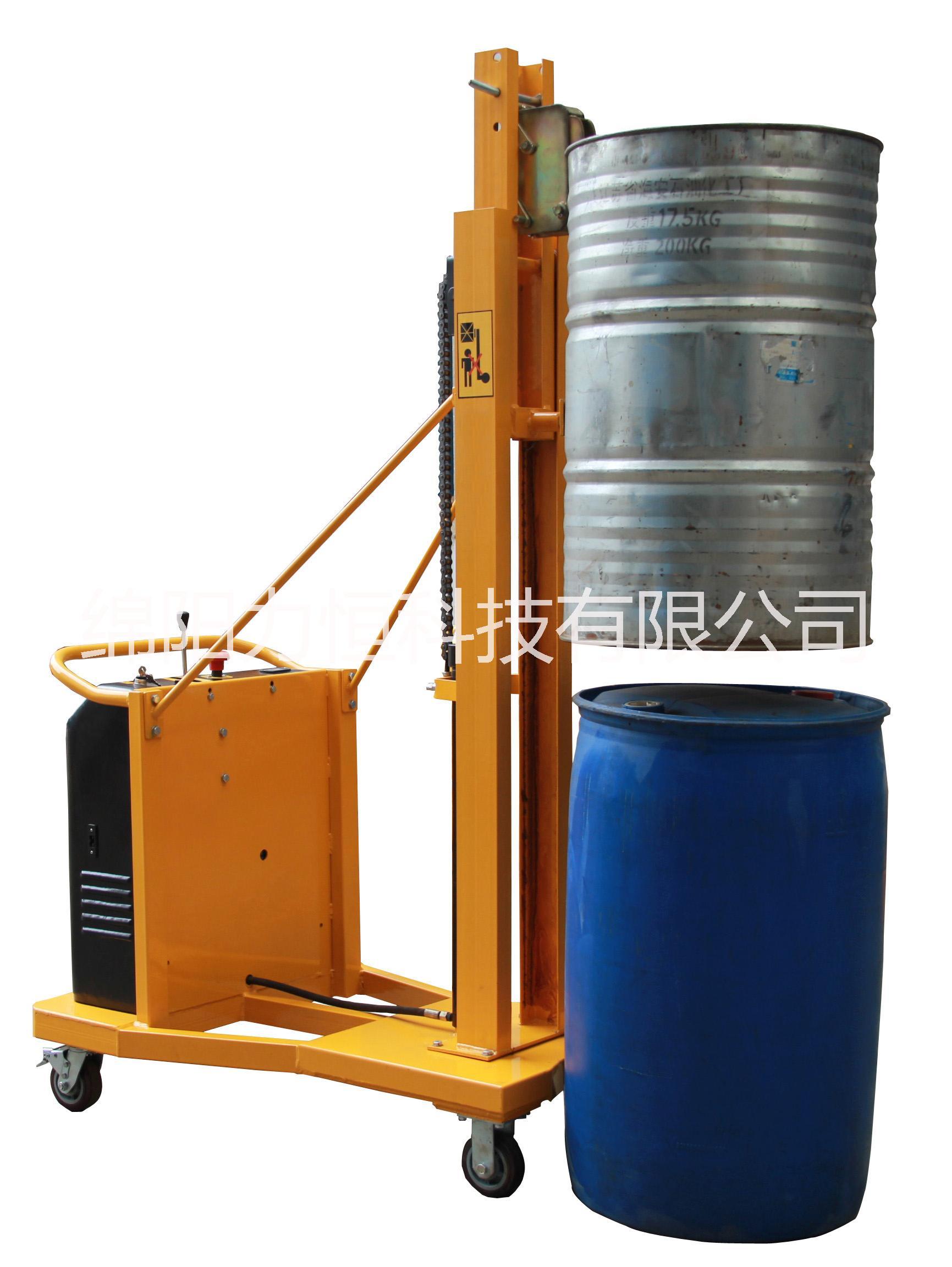 鹰嘴式油桶升高车 液压装卸车油桶搬运车 油桶搬运车