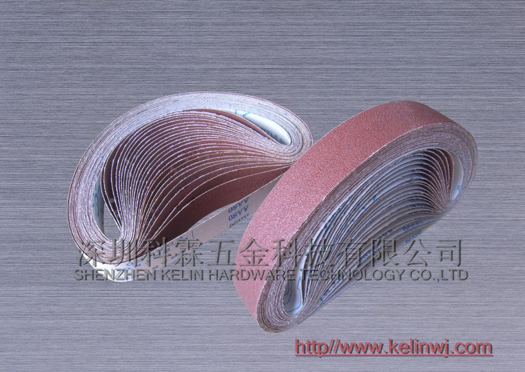520*20砂带厂家 砂带图片 棕钢玉砂带生产商