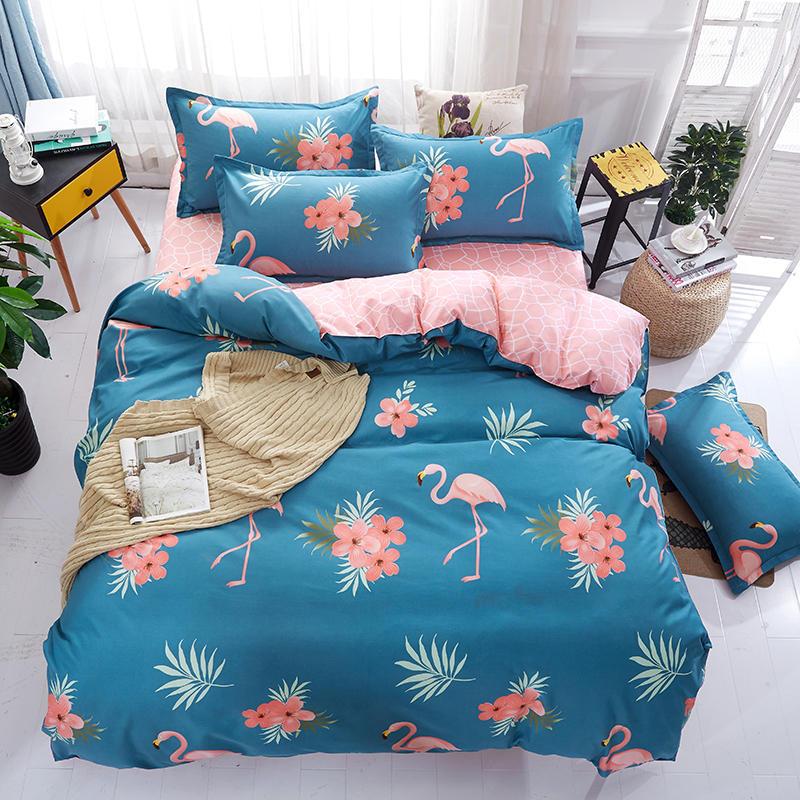 床上用品磨毛4件套家纺生产加工芦荟棉单双人四件套厂家直销批发