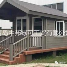 供應青島酒店陽臺木塑地板供貨商安裝圖片