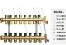 分集水器系列 地暖采暖暖通暖气片