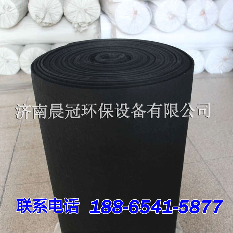 活性炭过滤棉,空气净化纤维棉,活性碳纤维状过滤网,环保箱漆雾处理过滤棉直销