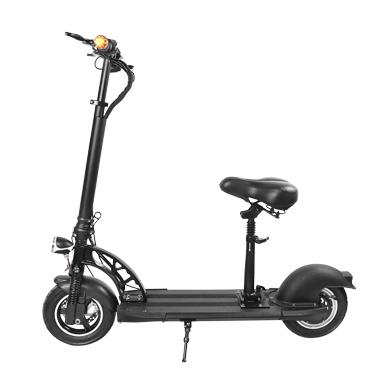 梦客manke 带座电动踏板车 折叠车 电动踏板车 滑板车 四轮滑板车 折叠车