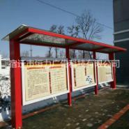 公交候车亭灯箱图片