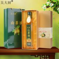 吴大厨山茶油500ml礼盒