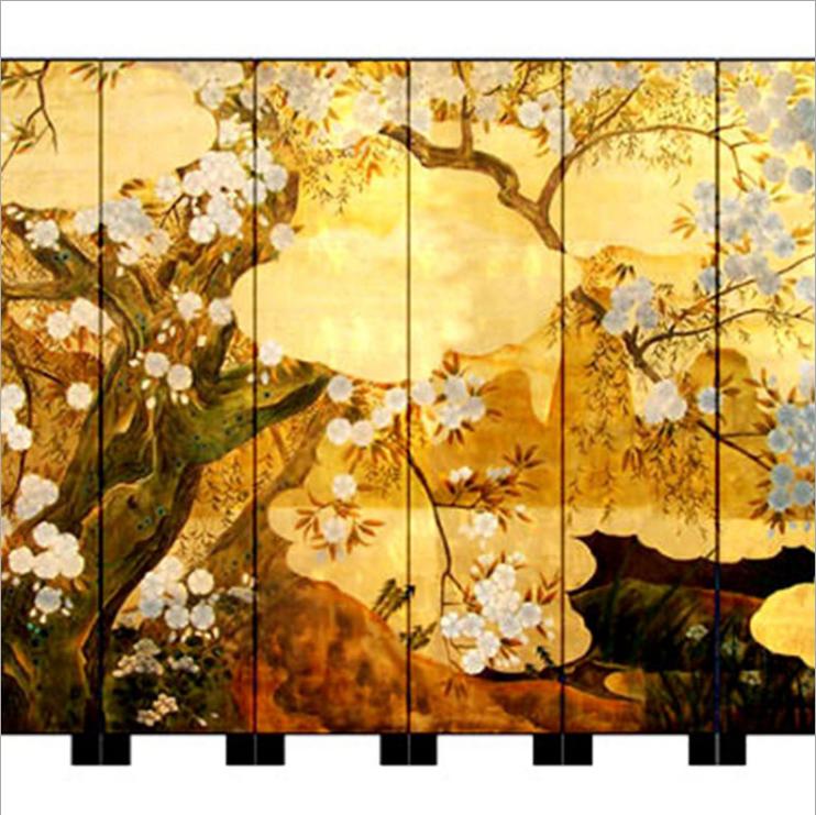 北京直销手绘漆画屏风 北京现代中式可落地座屏 北京移动漆画屏风 北京折叠活动屏风