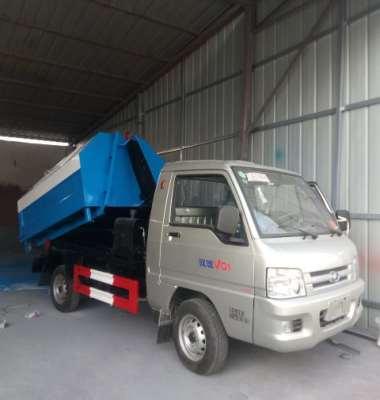 勾臂式垃圾车图片/勾臂式垃圾车样板图 (3)