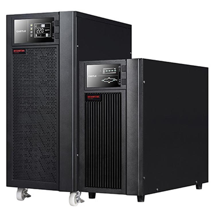 供应山特ups电源C10K 10KVA在线式标准机 内置电池