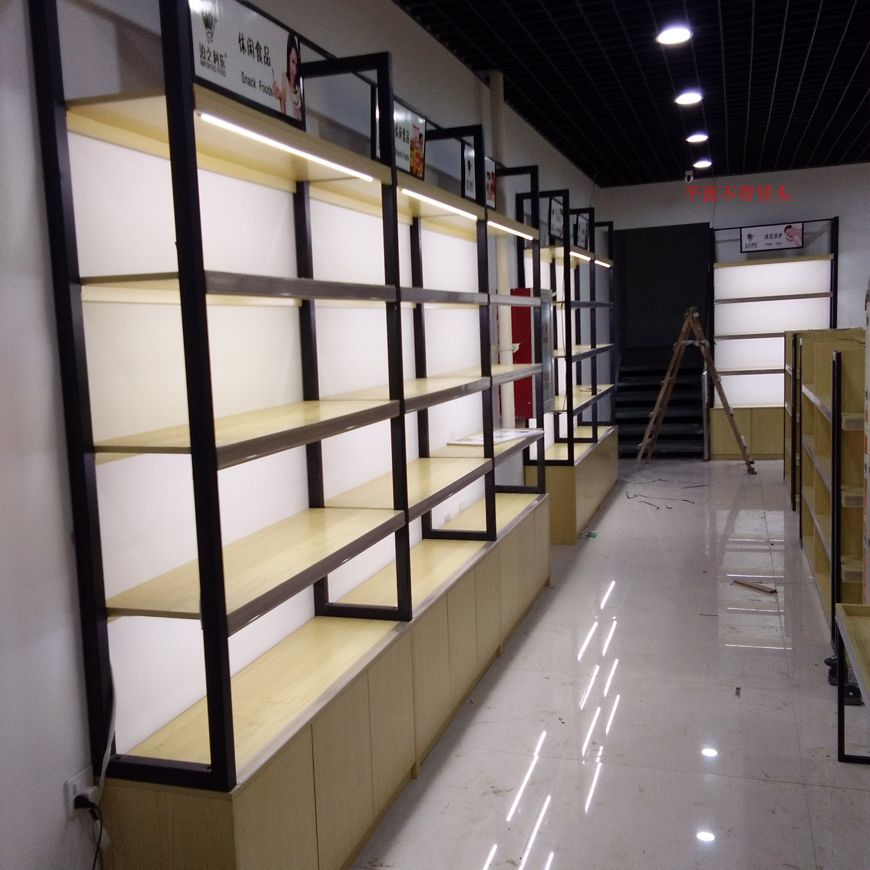 烤漆化妆品柜子 展示柜 精品 玛姿宝 展柜 货架 美容院护肤产品柜