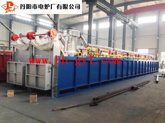 供应18米燃气式模壳焙烧炉