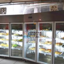 厂家直销超市玻璃门展示柜便利店饮料酸奶冷藏柜火锅店菜品冷藏柜