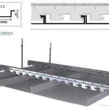 加油站吊顶条形扣板价格|防风条形扣板|室外装修条形扣板厂家
