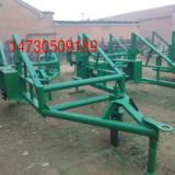 吉林省黄色十五吨线缆放线车通信电缆拖车