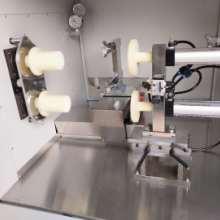 宁波硅胶密封圈自动切割机,