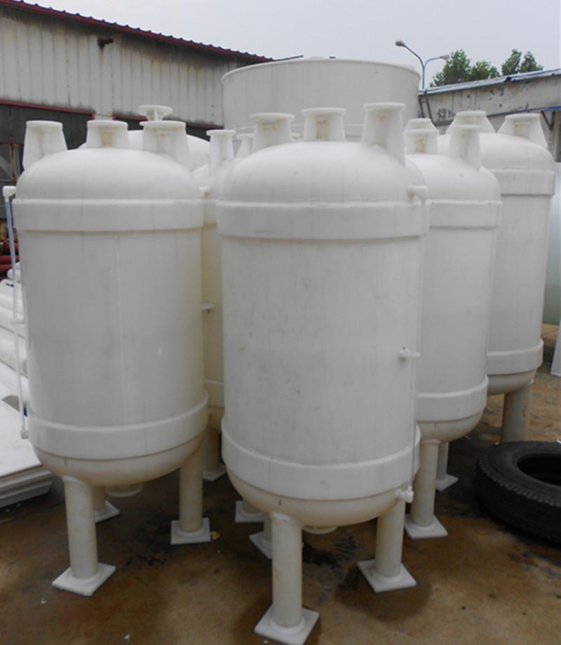 供应真空计量罐、缓冲罐、高位槽等塑料防腐设备