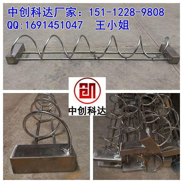 供应深圳自行车停车架厂家