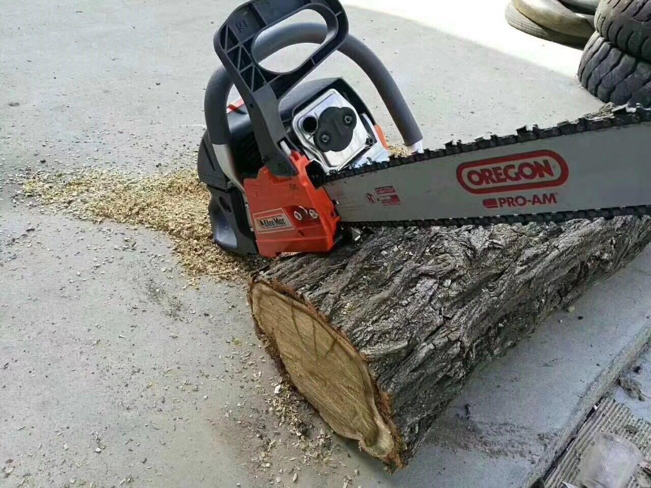 伐木锯电锯大功率家用油锯小型砍树机园林锯