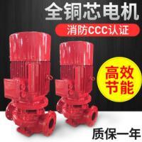 供应仓库专用喷淋泵 XBD11.0/25G-L 全铜线电机  3CF二维码 AB签