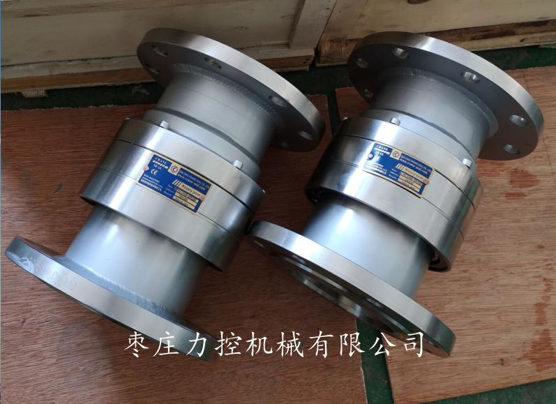 供应不锈钢直通两端法兰连接360度高速回转接头