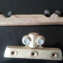 接线铜梗,蝶馈线夹,集电器总成,铜滑轮,碳刷,硬性线夹,电车线