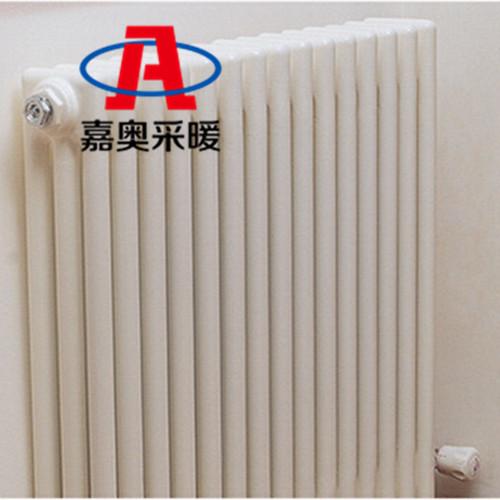 工程家用钢三柱散热器柱型内防腐钢制暖气片厂家嘉奥采暖 钢三柱散热器暖气片 钢柱散热器暖气片