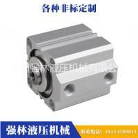 【厂家直销】气缸 活塞气缸SDA薄型气缸 行程可调复型气缸