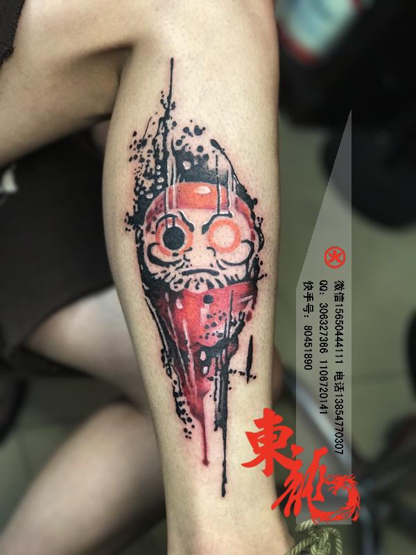 滕州哪里纹身比较有名 滕州纹身店 山东滕州哪里纹身好 滕州纹身花腿凤凰纹身东龙纹身