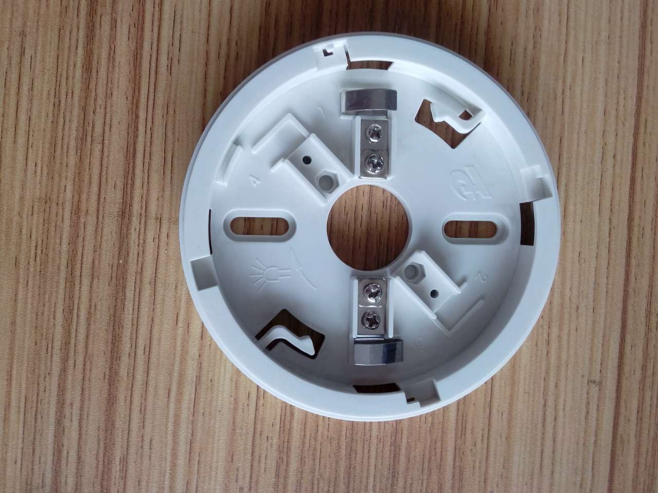 天成TC5102点型光电感温探测消防联网烟感器探头