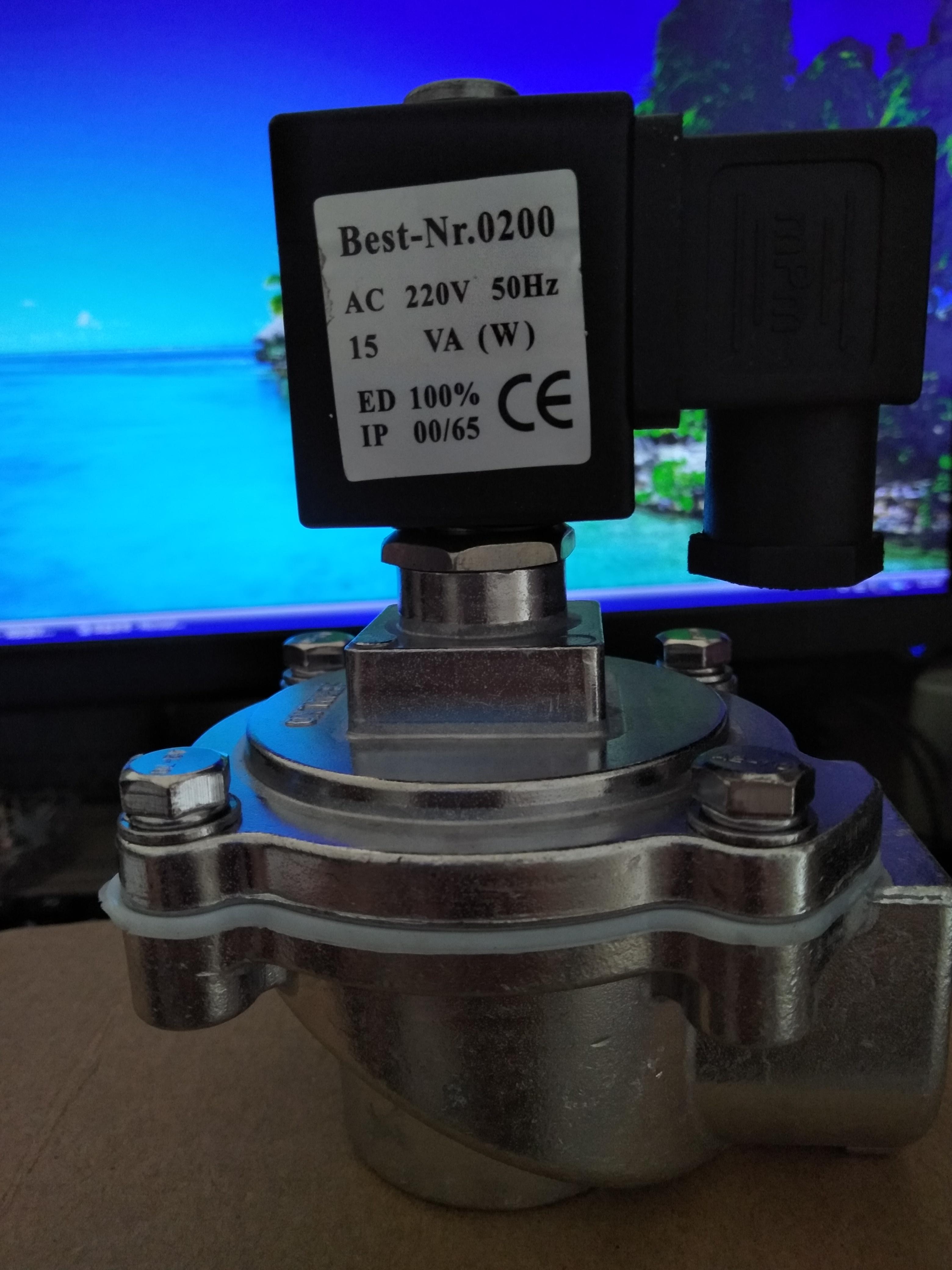 1寸 脉冲电磁阀 220V 脉冲电磁阀