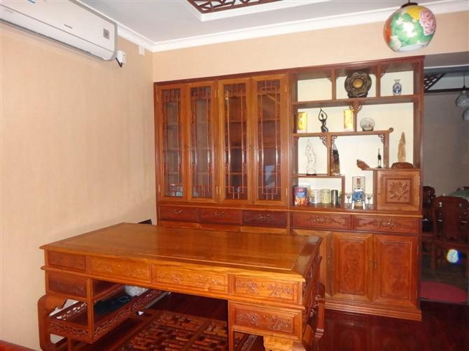 文昌博古架实木中式多宝阁简约现代古董架博物架茶架子置物架隔断玄关