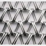 生产销售金属输送网带、波纹串条型