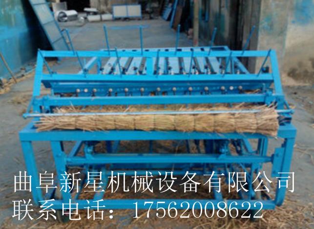 2米稻草专用草帘机 秸秆草席机 大棚草毡机  电动草帘机