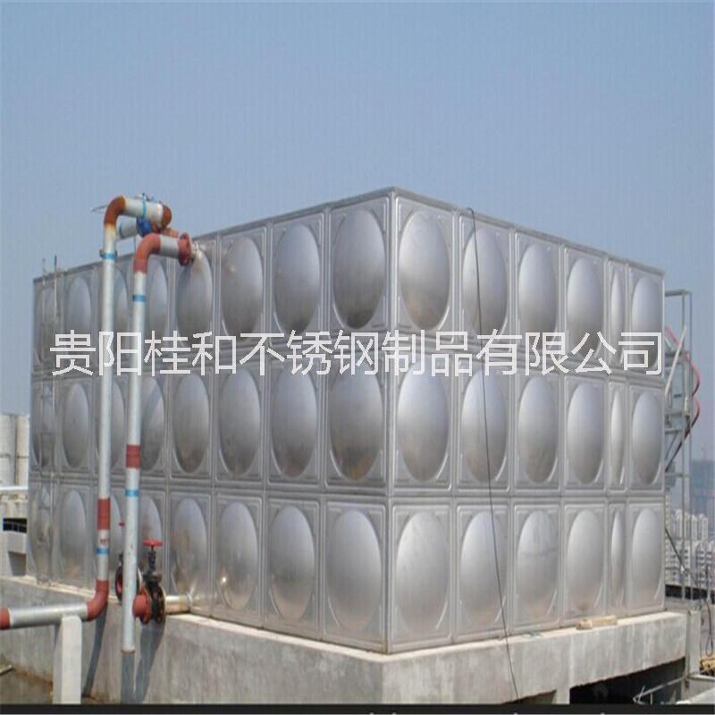 方形水箱 不锈钢方形水箱采购 厂家直销贵阳方形水箱 贵阳不锈钢方形水箱工厂
