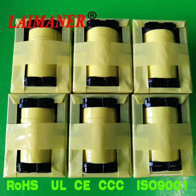 LED照明电源变压器 UL反折+套管+外铜箔+外围款EFD25变压器