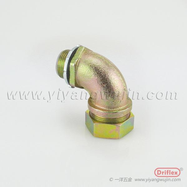 天津金属接头铁镀锌90度弯头报价