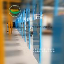 楼层防护隔离门价格 建筑安全门供应商 河南新乡建筑施工电梯门厂家图片
