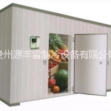 貴州超市冷庫安裝工程 貴州源豐雪制冷歡迎來電咨詢 六盤水冷庫安裝圖片
